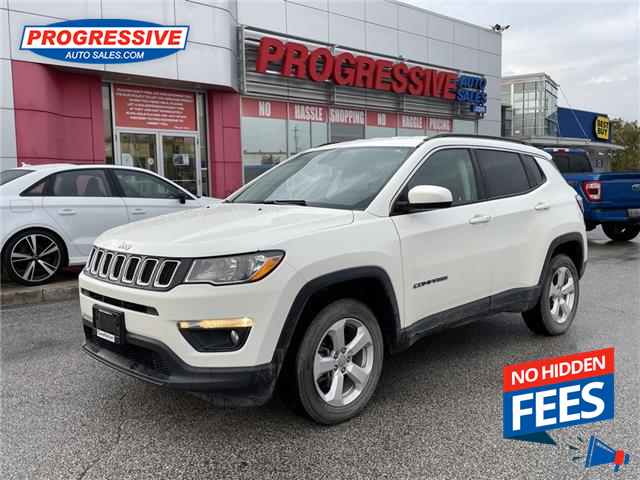 2018 Jeep Compass North (Stk: JT145625P) in Sarnia - Image 1 of 12
