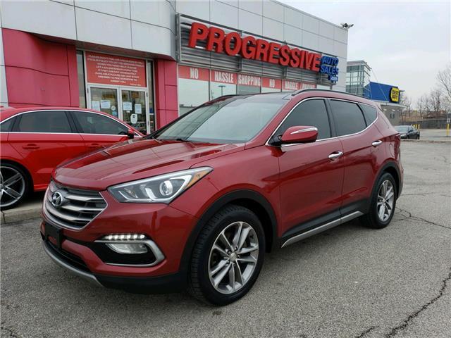 2017 Hyundai Santa Fe Sport 2.0T Limited (Stk: HG454492) in Sarnia - Image 1 of 27