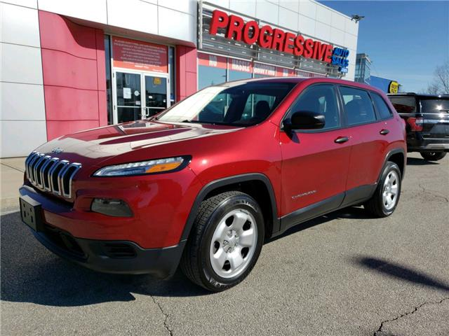 2015 Jeep Cherokee Sport (Stk: FW684033) in Sarnia - Image 1 of 22