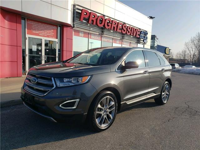 2016 Ford Edge Titanium (Stk: GBC32704) in Sarnia - Image 1 of 24