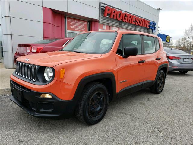 2015 Jeep Renegade Sport (Stk: FPC27487) in Sarnia - Image 1 of 22