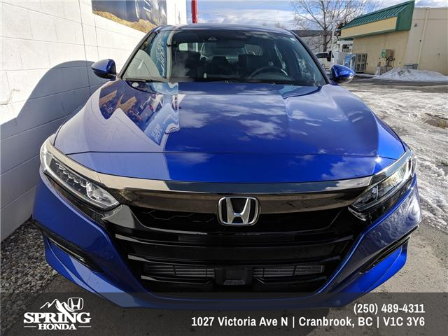 2018 Honda Accord Sport (Stk: H00918) in North Cranbrook - Image 2 of 21