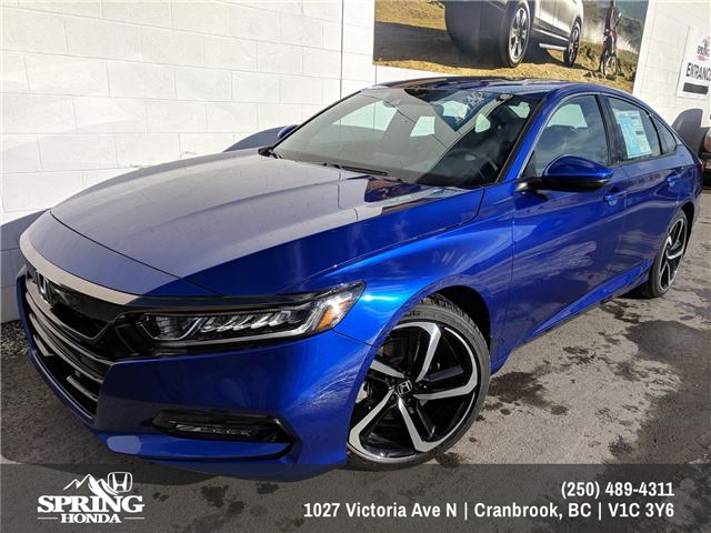 2018 Honda Accord Sport (Stk: H00918) in North Cranbrook - Image 1 of 21