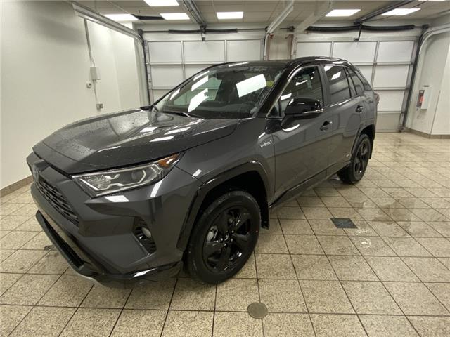 2021 Toyota RAV4 Hybrid XLE (Stk: 210281) in Cochrane - Image 1 of 19