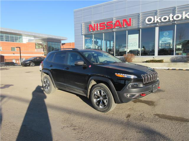 2018 Jeep Cherokee Trailhawk (Stk: 11174) in Okotoks - Image 1 of 28