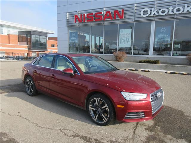 2017 Audi A4 2.0T Technik (Stk: 11046) in Okotoks - Image 1 of 26