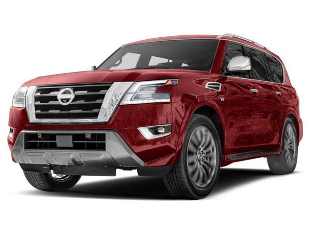 2021 Nissan Armada Platinum (Stk: 11251) in Okotoks - Image 1 of 2