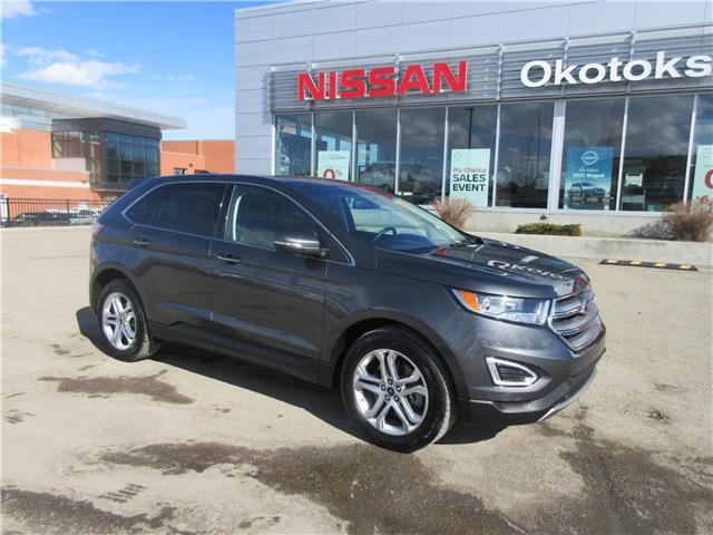 2018 Ford Edge Titanium (Stk: 11343) in Okotoks - Image 1 of 29
