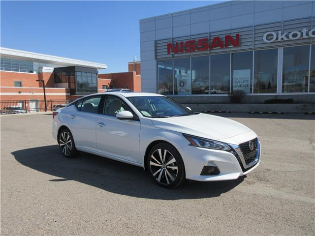 2021 Nissan Altima 2.5 Platinum (Stk: 11445) in Okotoks - Image 1 of 28