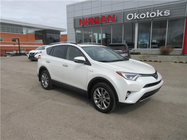 2017 Toyota RAV4 Hybrid Limited (Stk: 11483) in Okotoks - Image 1 of 28