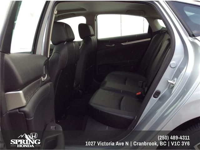 2018 Honda Civic Touring (Stk: H01445) in North Cranbrook - Image 8 of 20