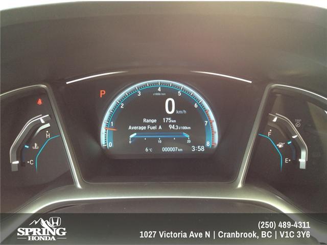2018 Honda Civic Touring (Stk: H01445) in North Cranbrook - Image 19 of 20