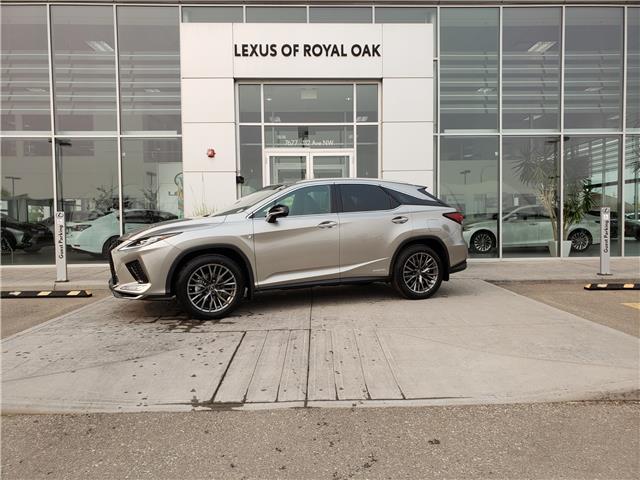 2020 Lexus RX 450h Base (Stk: L20521) in Calgary - Image 1 of 11
