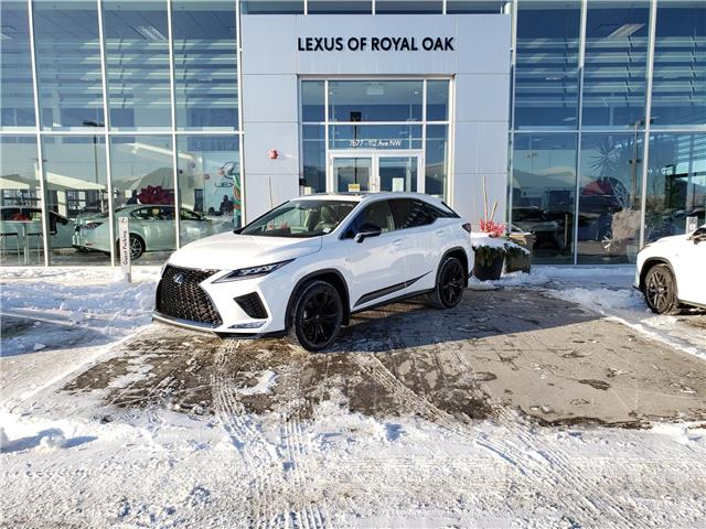 2021 Lexus RX 350 Base (Stk: L21165) in Calgary - Image 1 of 15