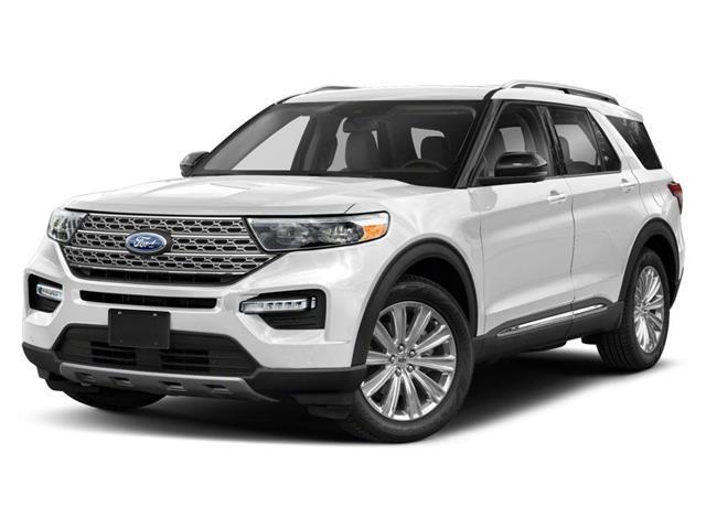 2020 Ford Explorer Platinum (Stk: U0313) in Barrie - Image 1 of 9