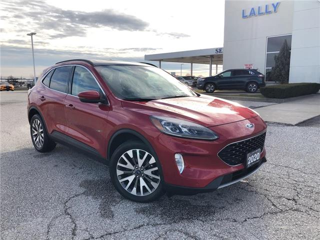 2020 Ford Escape Titanium (Stk: S10590R) in Leamington - Image 1 of 28