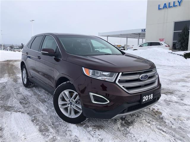 2018 Ford Edge SEL (Stk: S27099A) in Leamington - Image 1 of 25