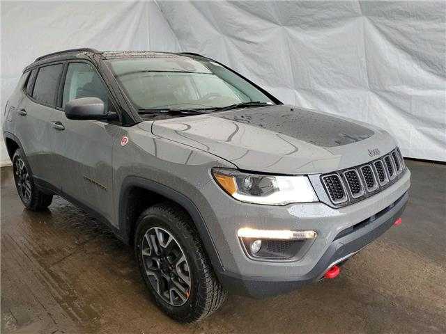 2021 Jeep Compass Trailhawk (Stk: 211139) in Thunder Bay - Image 1 of 15
