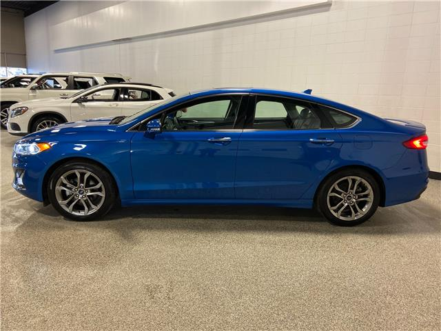 2020 Ford Fusion Hybrid Titanium (Stk: P12589) in Calgary - Image 1 of 24