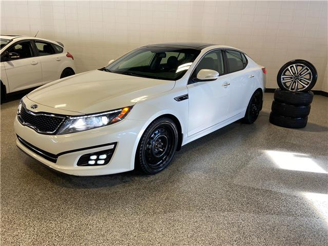 2015 Kia Optima SX Turbo (Stk: O12571A) in Calgary - Image 1 of 22