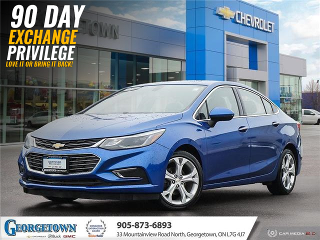 2016 Chevrolet Cruze Premier Auto (Stk: 32764) in Georgetown - Image 1 of 28