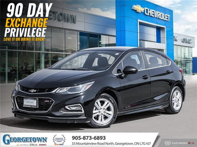 2017 Chevrolet Cruze Hatch LT Auto (Stk: 33449) in Georgetown - Image 1 of 25