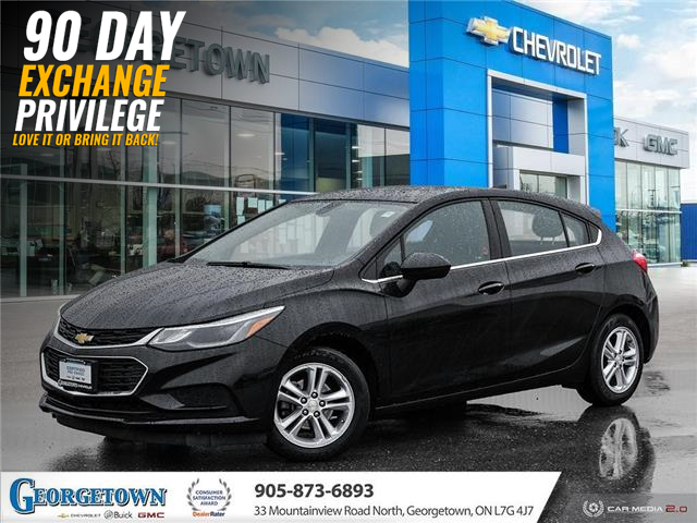 2017 Chevrolet Cruze Hatch LT Auto (Stk: 33481) in Georgetown - Image 1 of 27