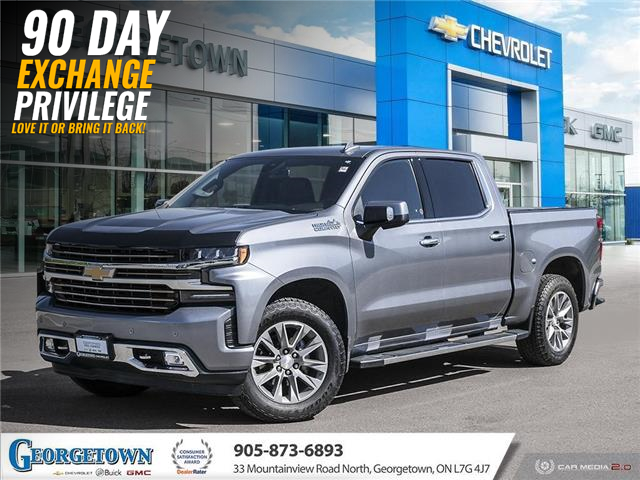 2019 Chevrolet Silverado 1500 High Country (Stk: 33601) in Georgetown - Image 1 of 29