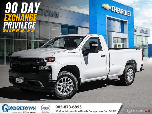 2020 Chevrolet Silverado 1500 Work Truck (Stk: 33586) in Georgetown - Image 1 of 27