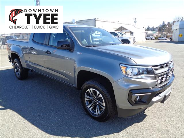 2021 Chevrolet Colorado Z71 (Stk: T21115) in Campbell River - Image 1 of 25
