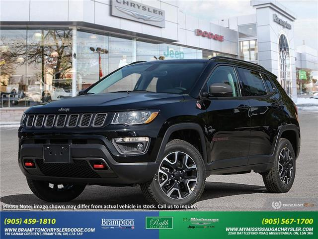 2021 Jeep Compass Trailhawk (Stk: 21361) in Brampton - Image 1 of 23
