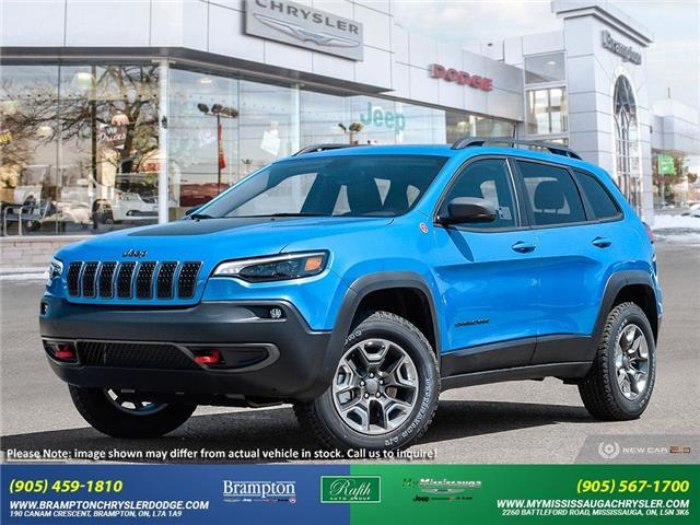 2021 Jeep Cherokee Trailhawk (Stk: 21339) in Brampton - Image 1 of 23