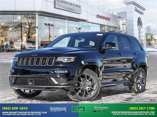 2021 Jeep Grand Cherokee Overland (Stk: 21464) in Brampton - Image 1 of 30