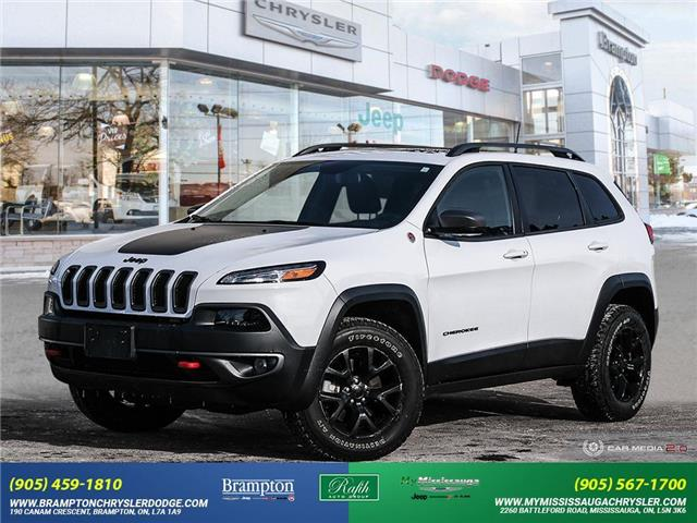 2018 Jeep Cherokee Trailhawk (Stk: 13940) in Brampton - Image 1 of 30