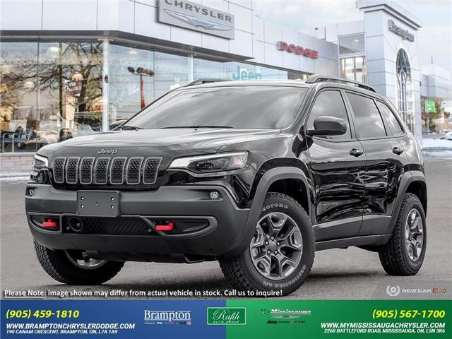 2021 Jeep Cherokee Trailhawk (Stk: ) in Brampton - Image 1 of 23