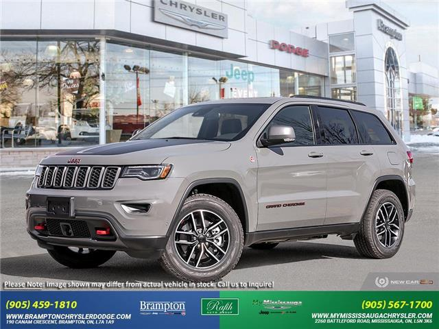 2021 Jeep Grand Cherokee Trailhawk (Stk: 21482) in Brampton - Image 1 of 23