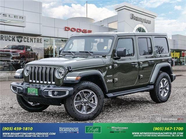 2021 Jeep Wrangler Unlimited Sahara (Stk: 21525A) in Brampton - Image 1 of 30