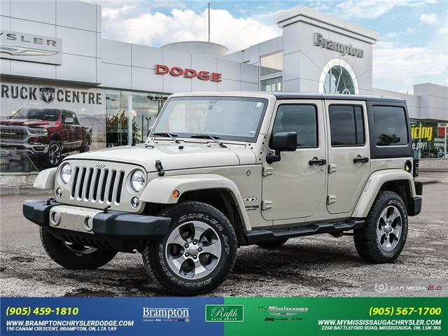 2018 Jeep Wrangler JK Unlimited Sahara (Stk: 14041) in Brampton - Image 1 of 30
