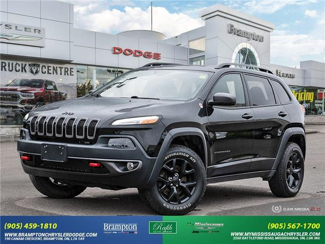 2018 Jeep Cherokee Trailhawk (Stk: 21447B) in Brampton - Image 1 of 30