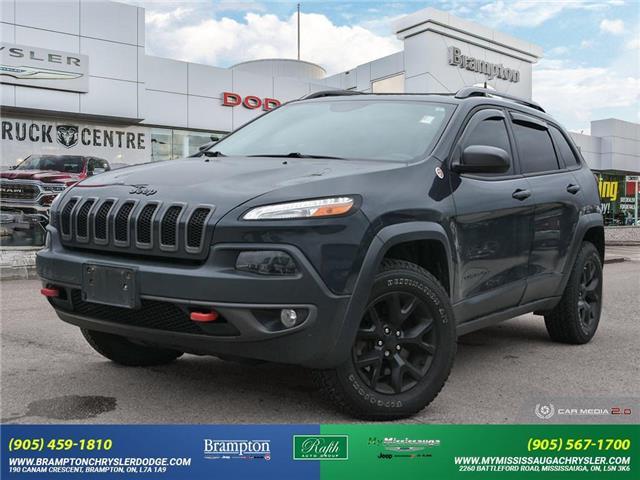 2017 Jeep Cherokee Trailhawk (Stk: 21361A) in Brampton - Image 1 of 30