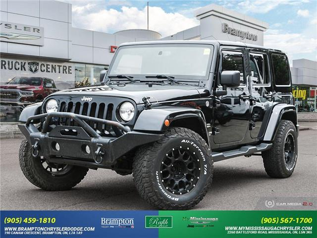 2014 Jeep Wrangler Unlimited Sahara (Stk: 14123A) in Brampton - Image 1 of 30