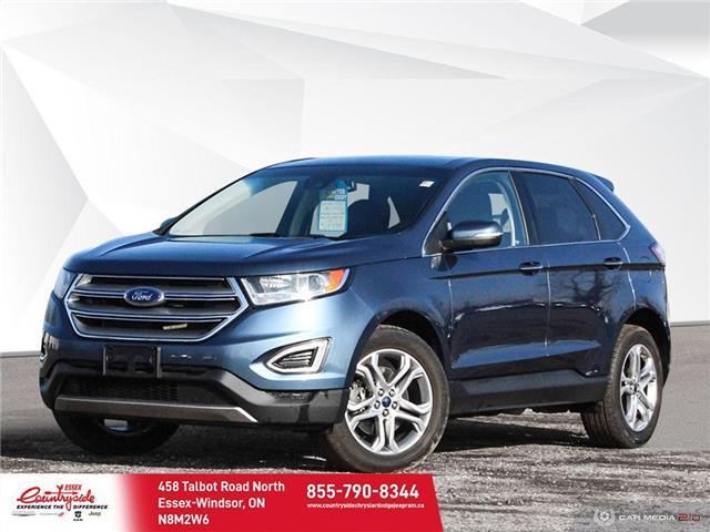2018 Ford Edge Titanium (Stk: 60691) in Essex-Windsor - Image 1 of 27