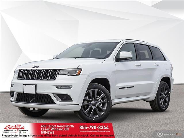 2021 Jeep Grand Cherokee Overland (Stk: 21166) in Essex-Windsor - Image 1 of 22