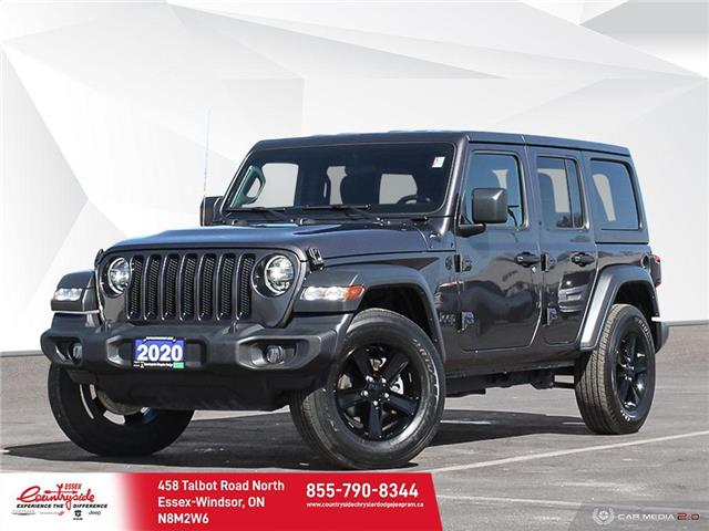 2020 Jeep Wrangler Unlimited Sport (Stk: 60801) in Essex-Windsor - Image 1 of 26