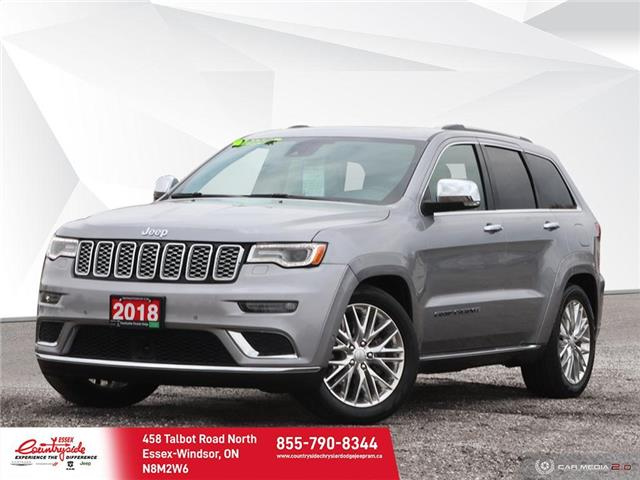 2018 Jeep Grand Cherokee Summit (Stk: 60887) in Essex-Windsor - Image 1 of 29