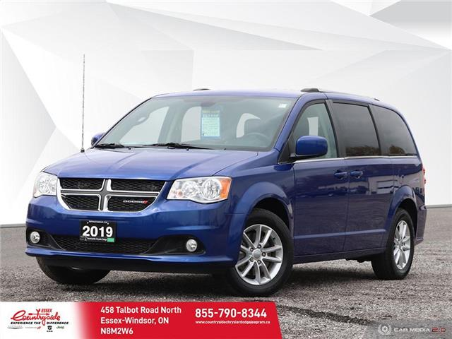 2019 Dodge Grand Caravan CVP/SXT (Stk: 60894) in Essex-Windsor - Image 1 of 27