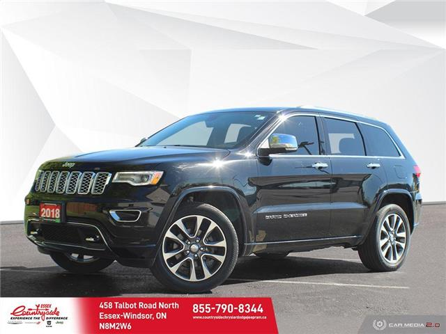 2018 Jeep Grand Cherokee Overland (Stk: 60930) in Essex-Windsor - Image 1 of 30