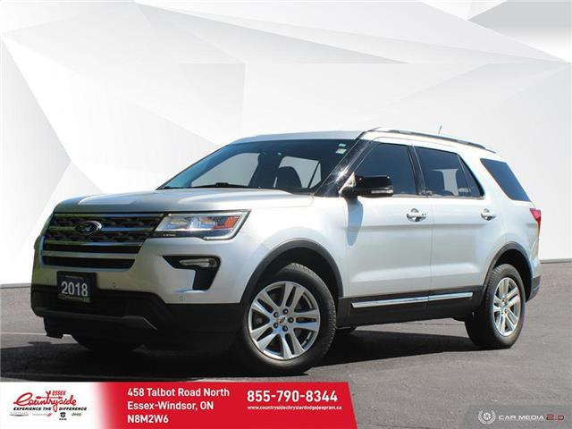 2018 Ford Explorer XLT (Stk: 60906) in Essex-Windsor - Image 1 of 30