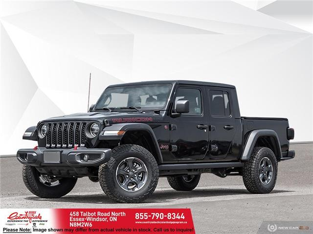 2021 Jeep Gladiator Rubicon (Stk: 21452) in Essex-Windsor - Image 1 of 23