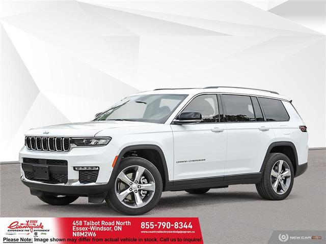 2021 Jeep Grand Cherokee L Limited (Stk: 21499) in Essex-Windsor - Image 1 of 23